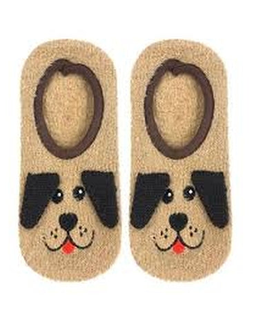 Puppy Fuzzy Slipper Socks