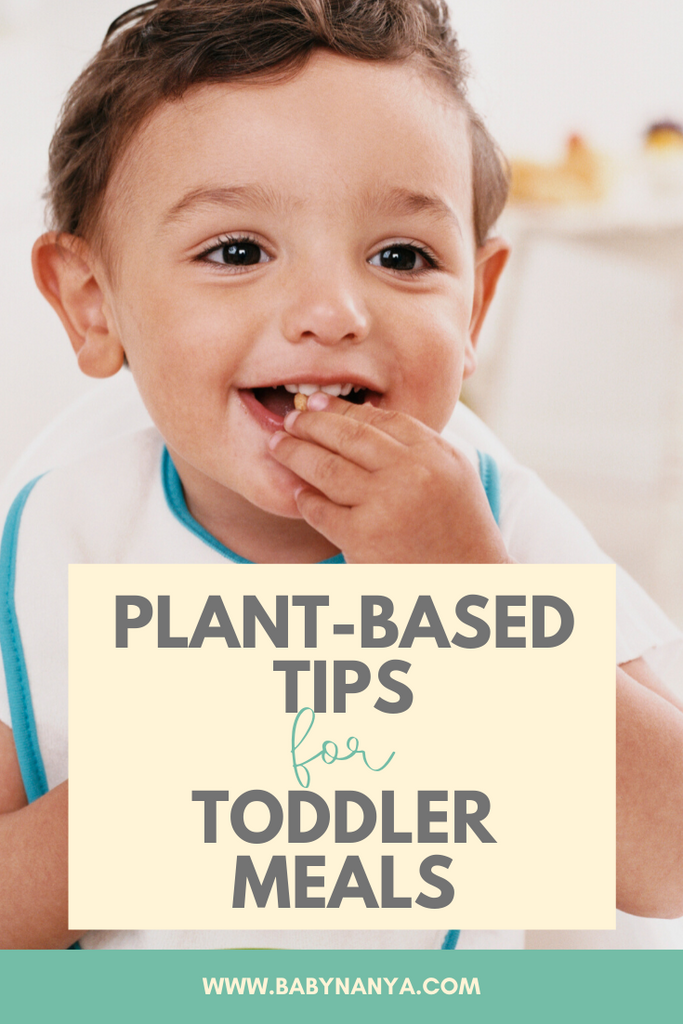 Plant-Based Tips for Toddler Meals