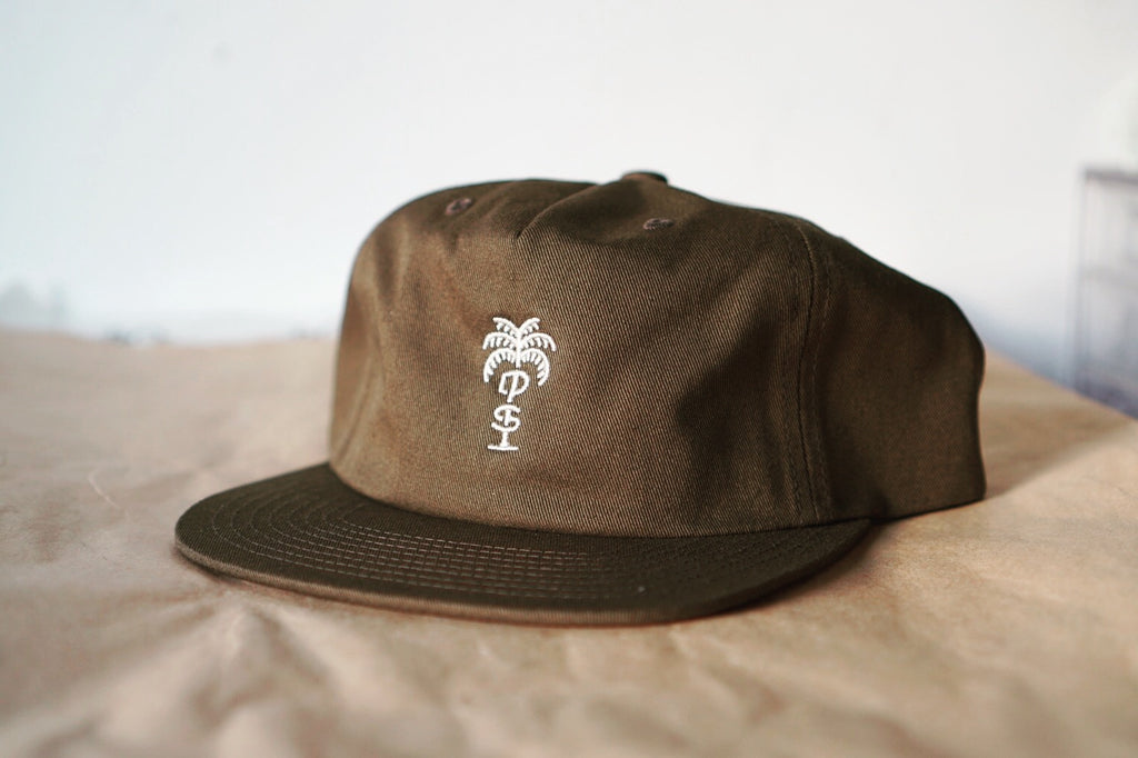Palm Unstructured 5 Panel Strap Back
