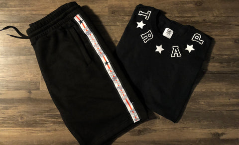 TRAP STAR SHORTS & TEE SET