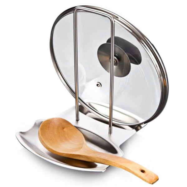 Pot Lid Holder Spoon Rests Combo