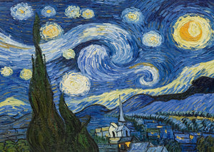 Paint By Numbers Starry Night