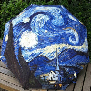 Umbrella Starry Night
