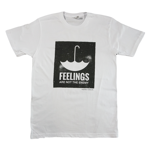 Feelings White Tee