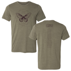 Lord of the Butterflies Tour Tee (W/ Dates)