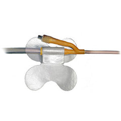 "MC Johnson Co Inc Cath-Secure Plus Tube Holder, Hypoallergenic, Latex Free 2-1/2"" L, Butterfly Base"