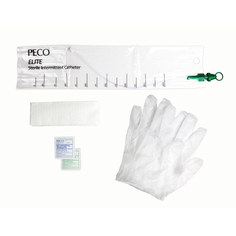 PECO Elite Touch-Free Closed Catheter Kit 16Fr