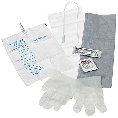 "Teleflex Medical Easy Cath™ Female Insertion Kit 14Fr 7"" L, Sterile, Latex-free, Single-use"