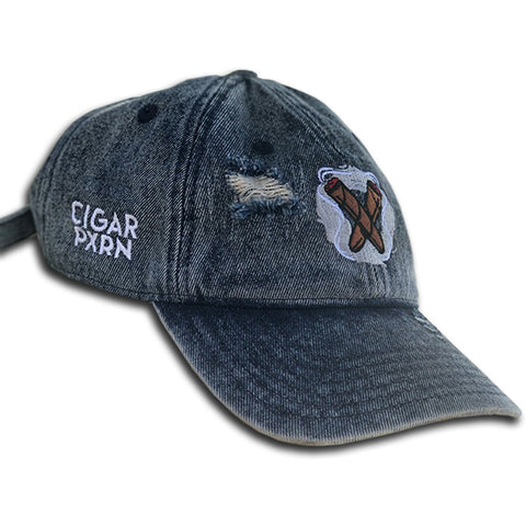 Cigar Pxrn Logo Dad Hat
