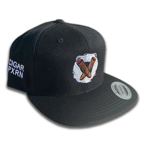 Cigar Pxrn Logo Snap Back Hat