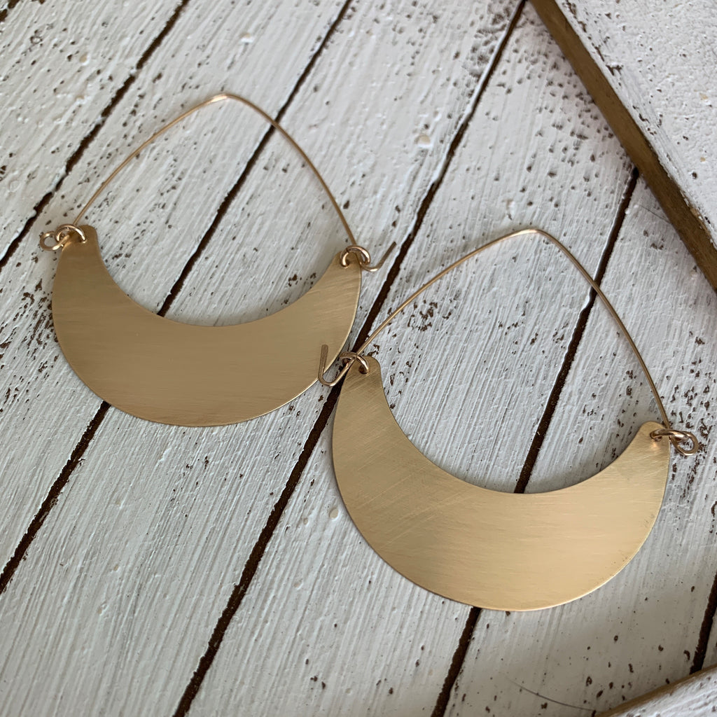 Crescent Moon Earrings as seen at GBK's 2020 Oscars Celebrity Gift Lounge