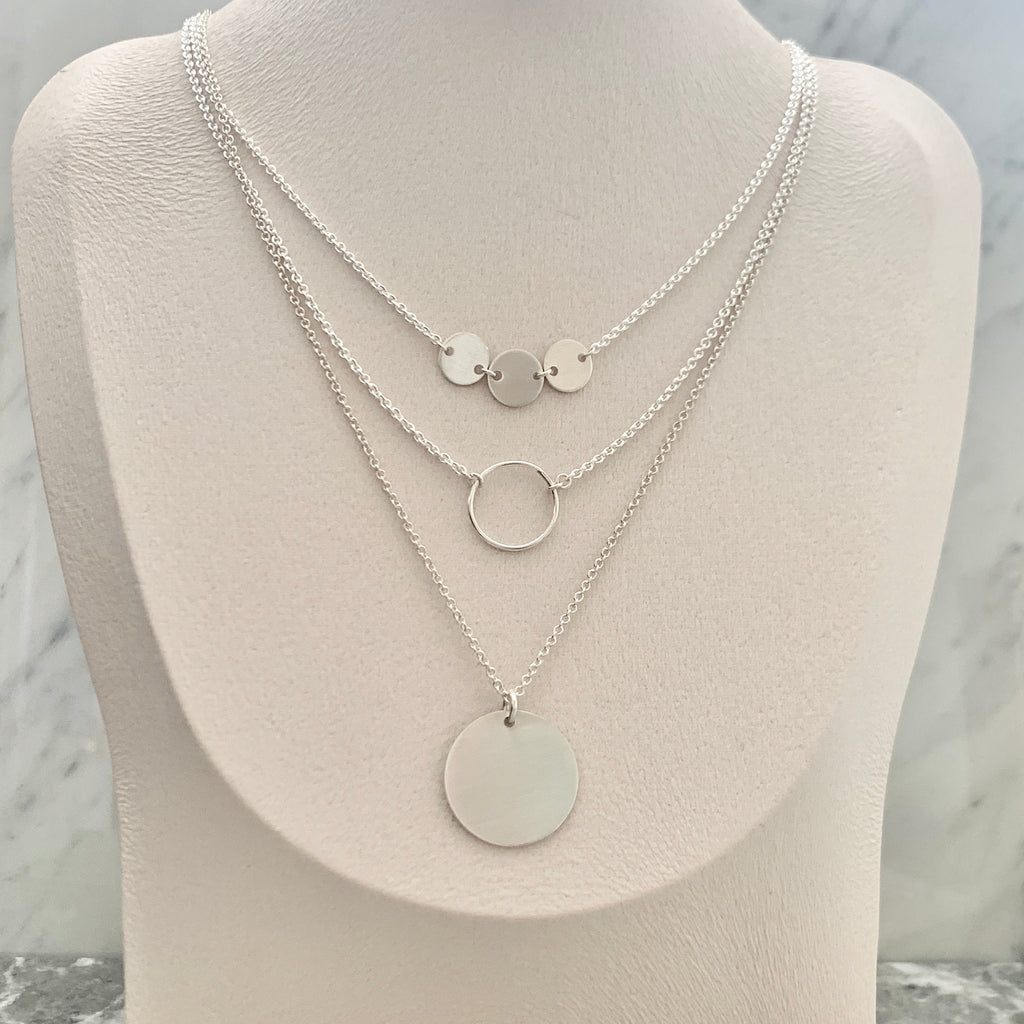 The Perfect Sterling Silver Layering set