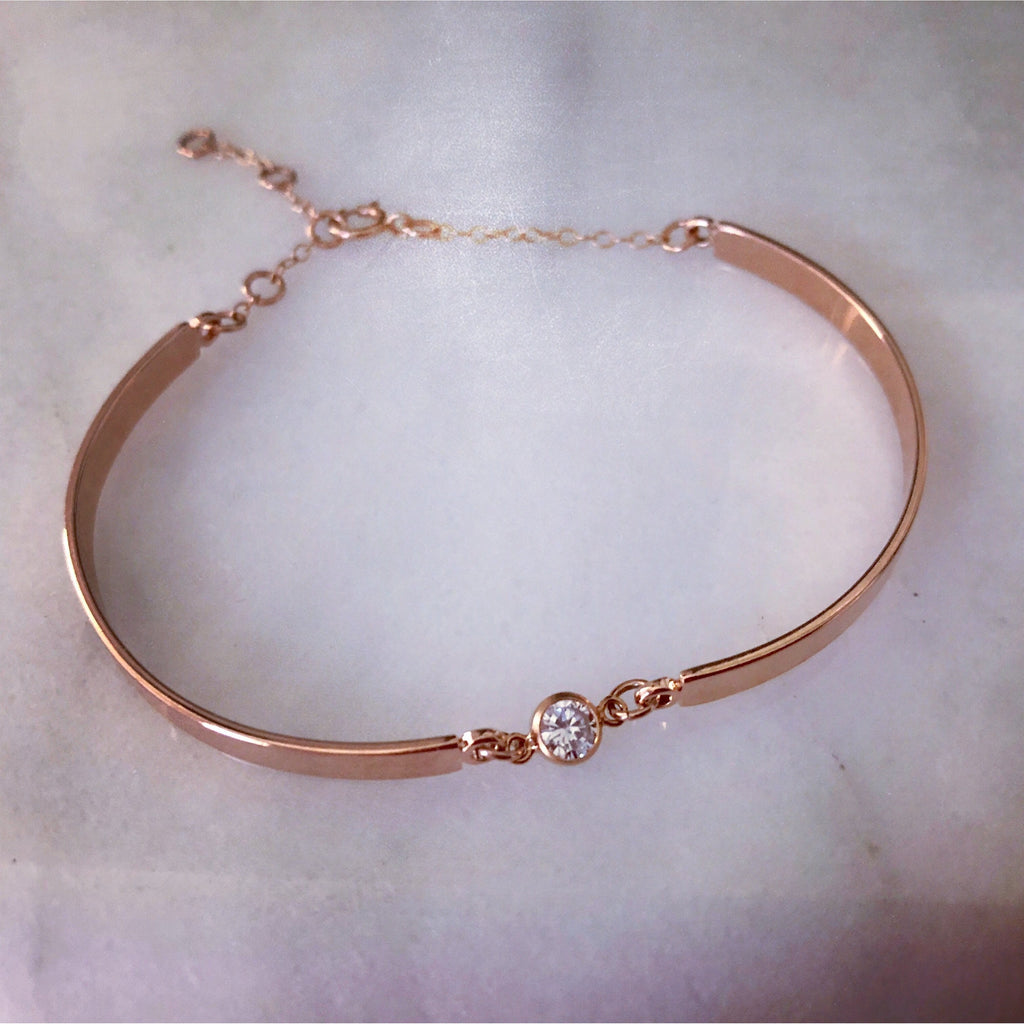 Dainty Rose Gold Bracelet