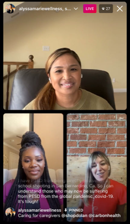 Watch the full IGTV conversation with Jodie, Folake and Alyssa.