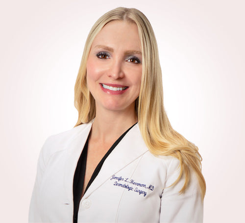 Dr. Herrmann is a board certified, fellowship-trained dermatologist and dermatologic surgeon. Dr. Herrmann graduated summa cum laude from Princeton University and earned her medical degree from Harvard University.