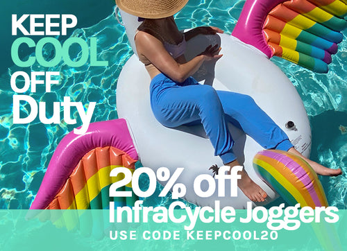 Save 20% to keep cool in DOLAN InfraCycle Joggers. Use code KEEPCOOL20.