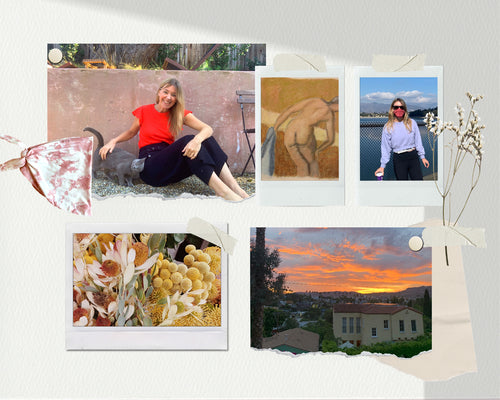 Images of our founder Jodie's favorite forms of self care.