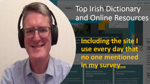 Top Irish Dictionary and Online Resources