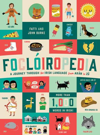 Front cover of Foclóiropedia book