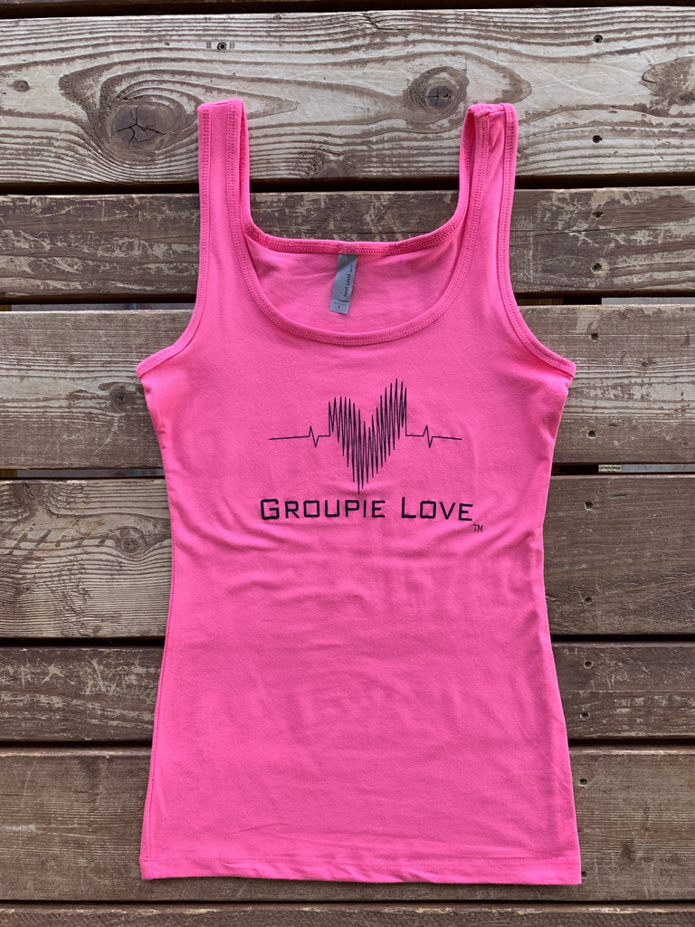 Groupie Love Pink Tank Top