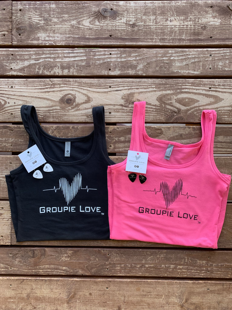 Groupie Love Black Tank Top