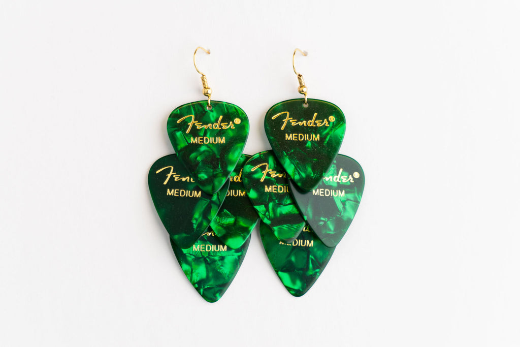 Fender Green Minor Earrings