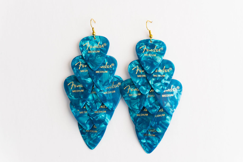 Fender Turquoise Major Earrings