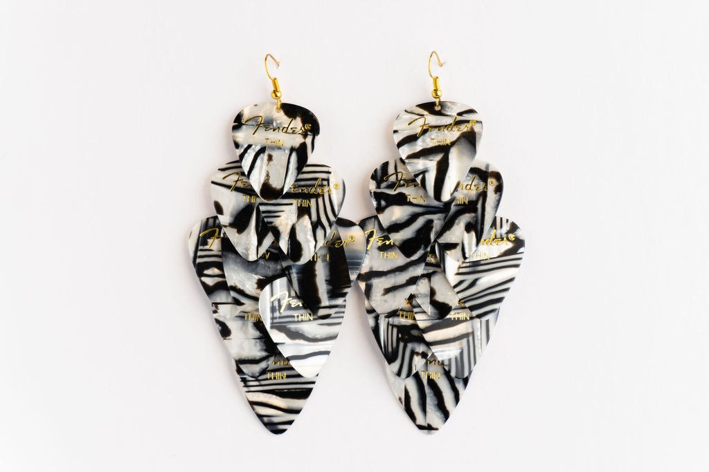 Fender Zebra Major Earrings