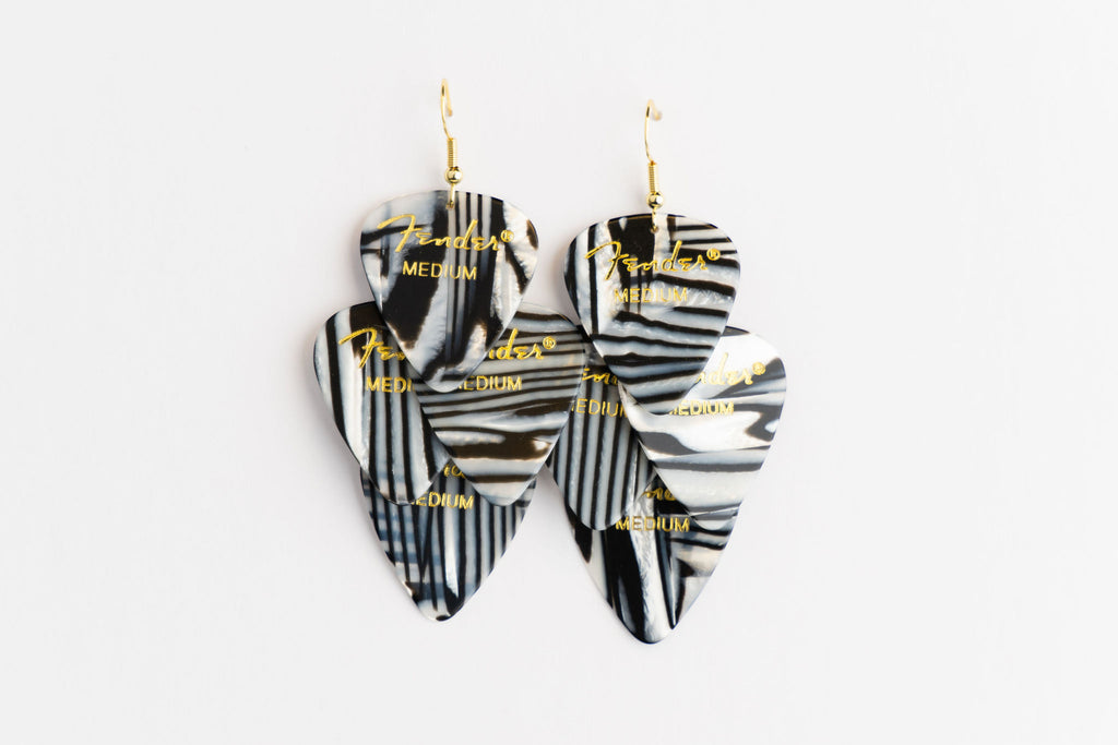 Fender Zebra Minor Earrings