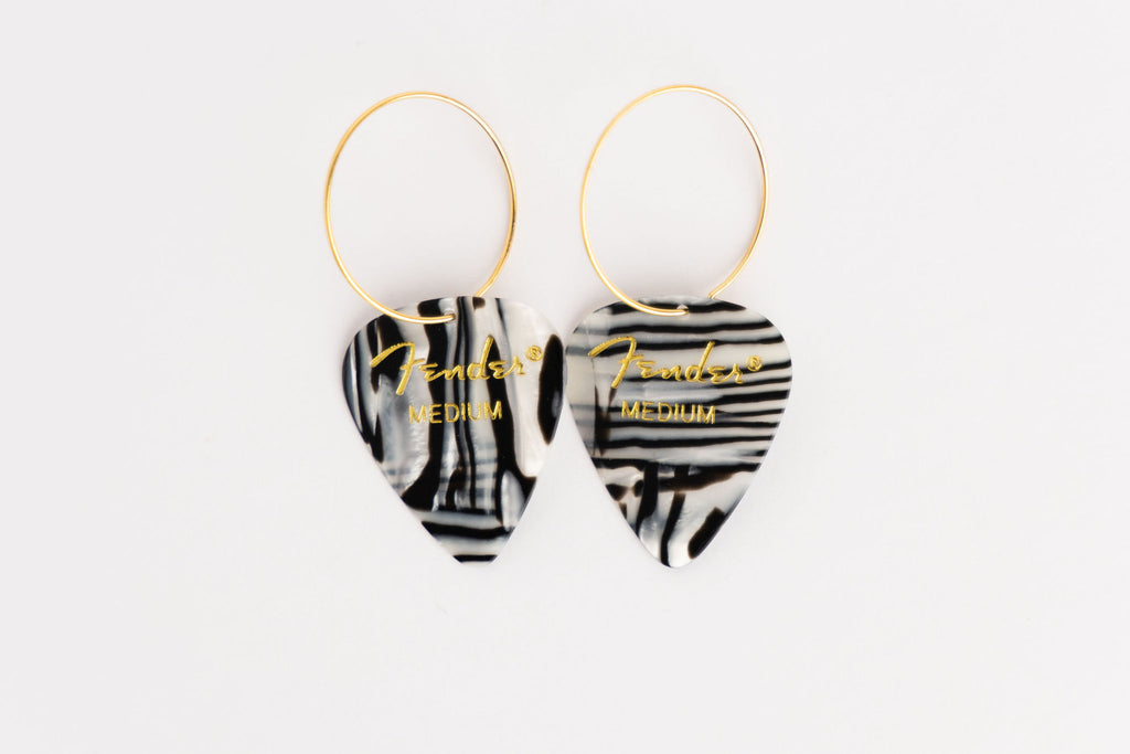 Fender Zebra Single Earrings