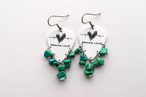 Groupie Love Classic Turquoise Earrings