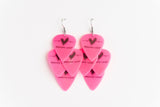 Groupie Love Pink Minor Earrings