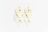 Groupie Love White Gold Minor Earrings