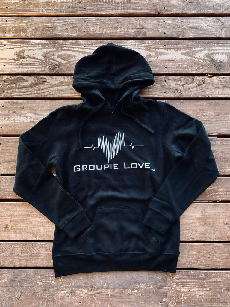 Groupie Love Black Men's Hoodie