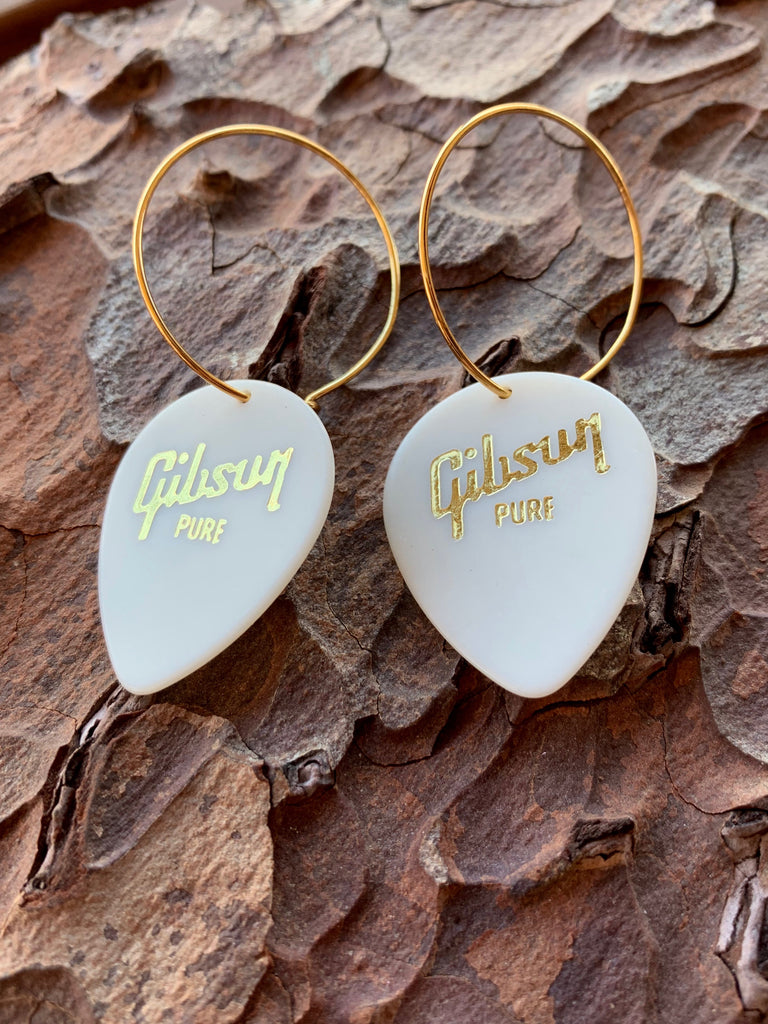 Gibson Vintage Teardrop Single Earrings