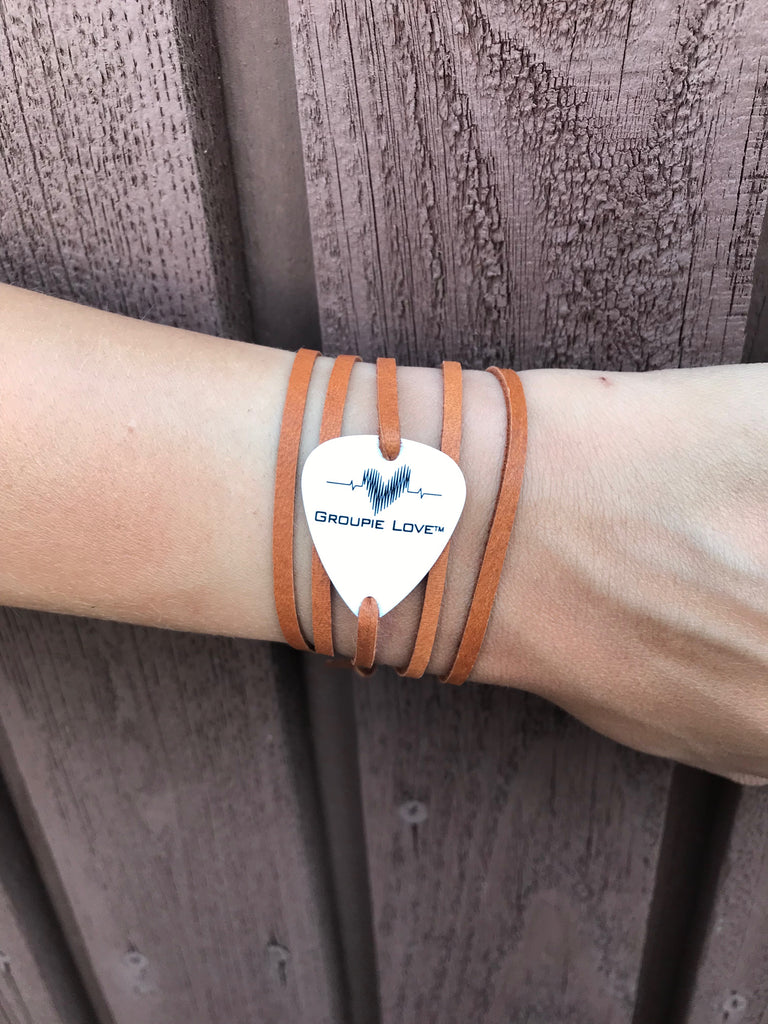 Groupie Love Classic Brown Leather Band