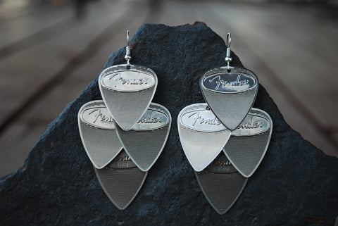 Fender Steel Minor Earrings