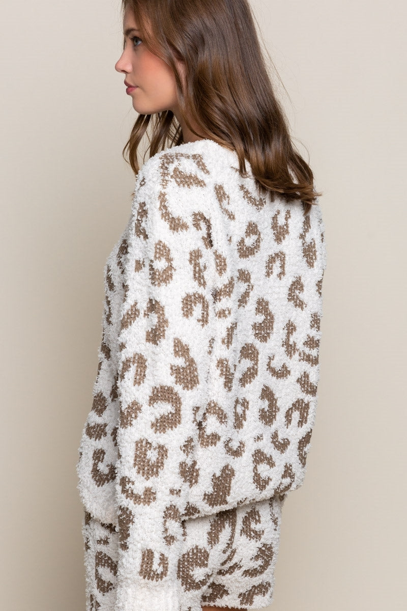 Berber Leopard Sweater
