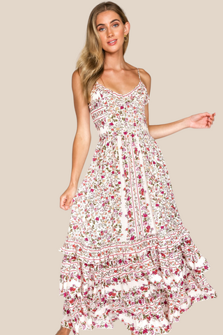 Marie Floral Maxi