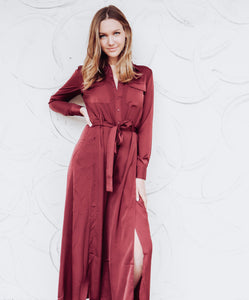 Button Up Open Leg Jumpsuit