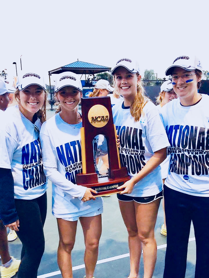 2014 Emory Womens Tennis NCAA