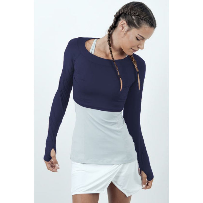 Bloq UV Crop Top- the neutrals - queen of the court