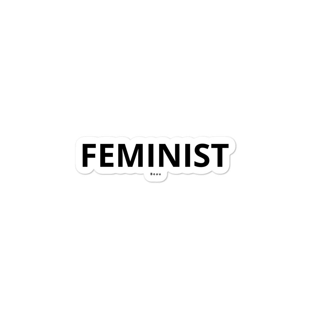 The Feminist Sticker