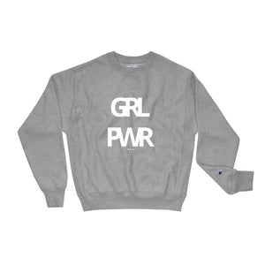 GRL PWR Crewneck In Grey