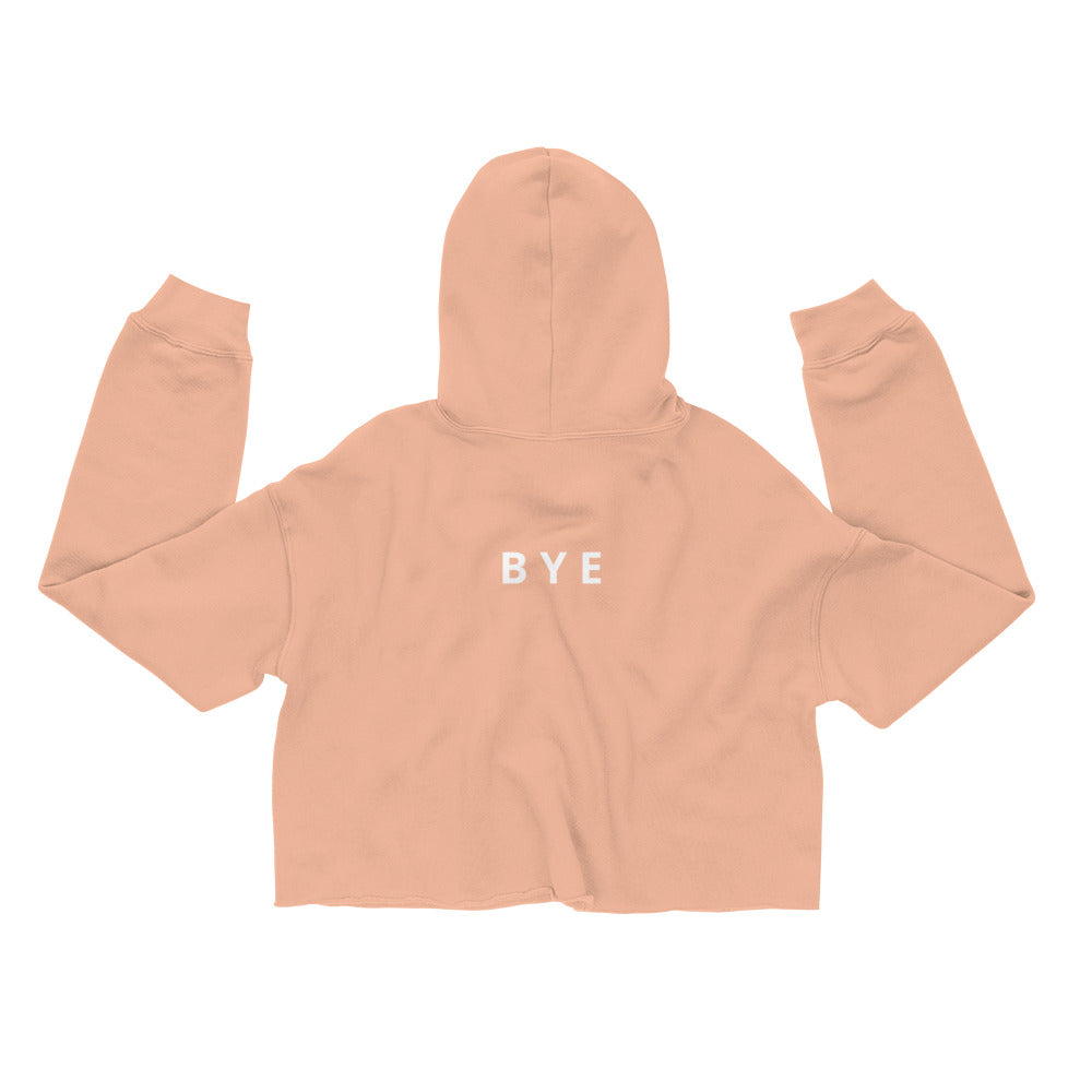 See Yuh Cropped Sweatshirt