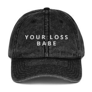 Your Loss Vintage Dad Hat