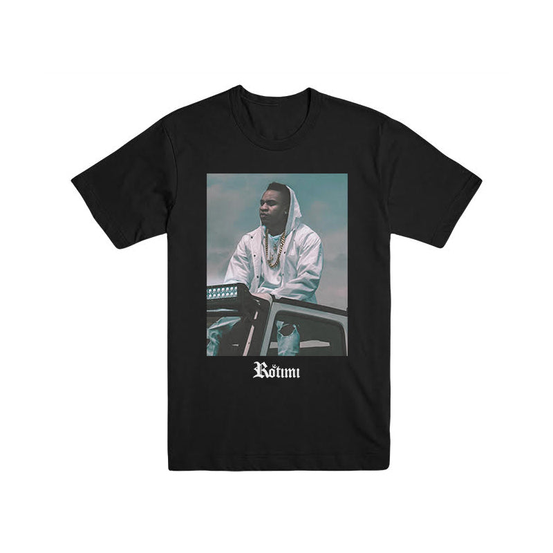 Rotimi - Jeep Photo (Black) T-Shirt