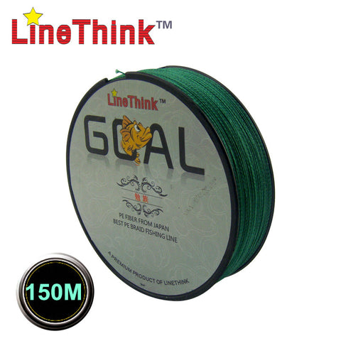150M Multifilament 100% PE Braided Fishing Line