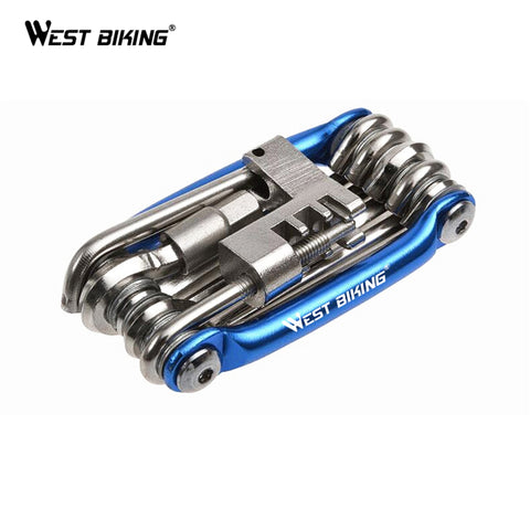 11 in 1 Bicycle Bike Repair Tools Cycling Multi Function Wrench Screwdrive Chain Cutter