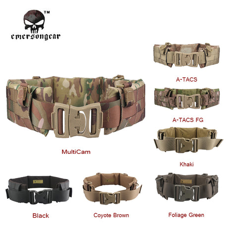 Tactical MOLLE Padded Waist Belt